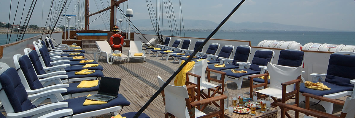 MS Galileo, Sun deck