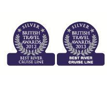 British Travel Awards - Best River Cruise Line - Silver Award