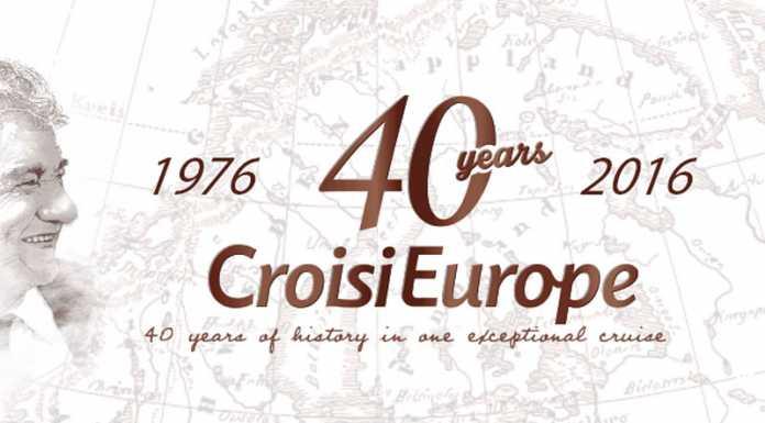 CroisiEurope, 40 Años
